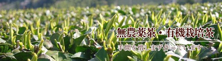 無農薬茶・有機栽培茶